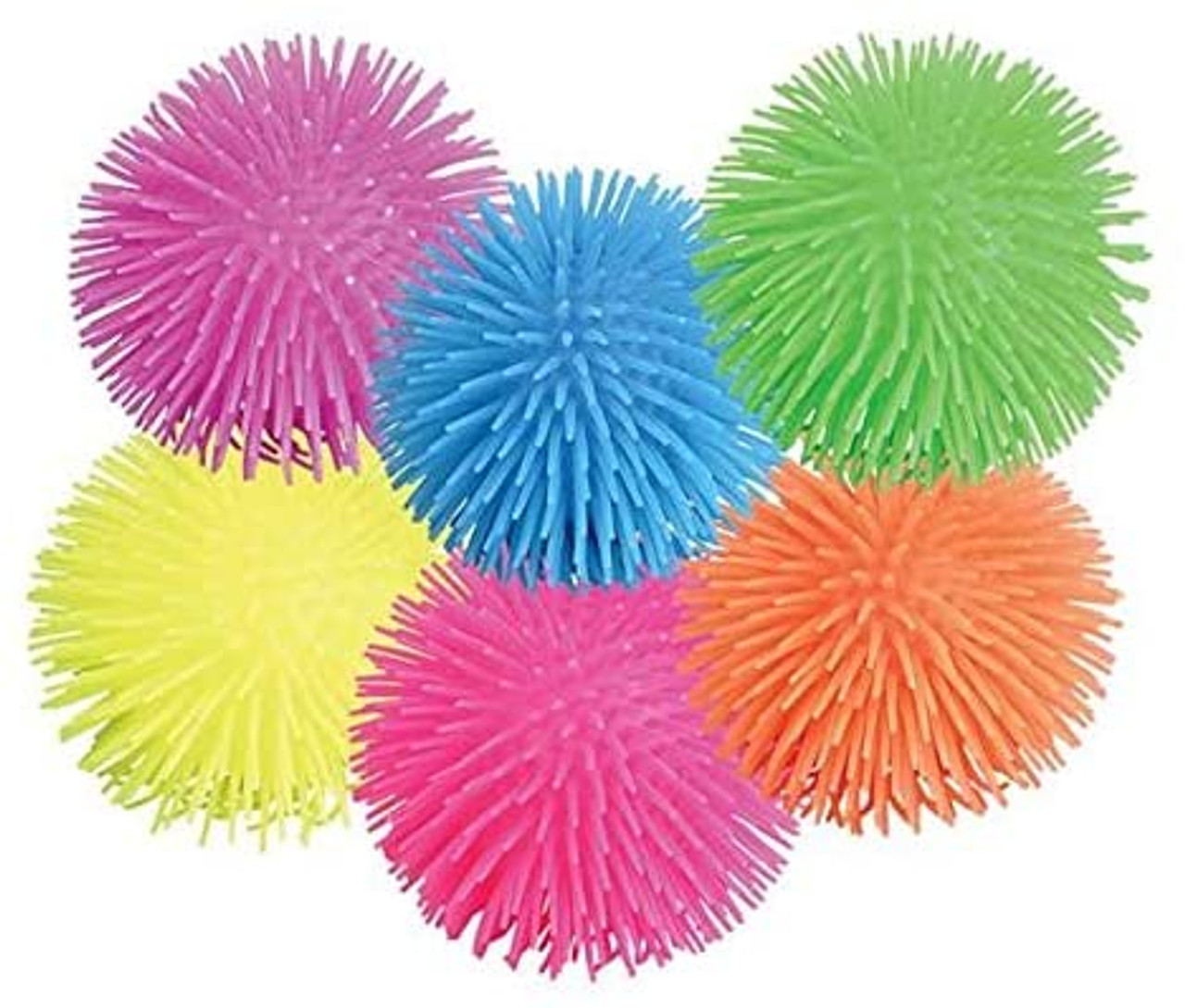 Puffer Ball; 6 assorted colors