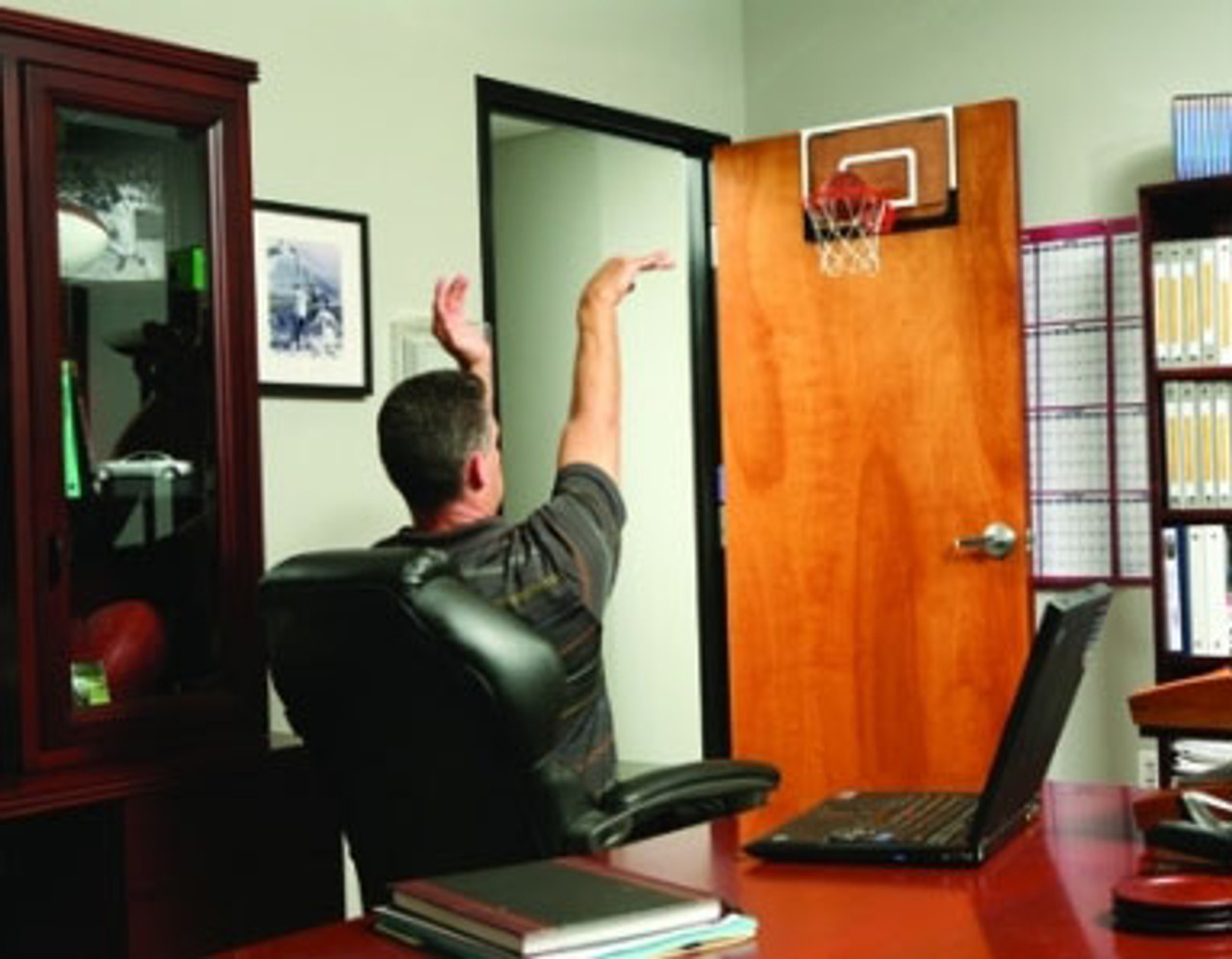 Basketball Mini Hoop , in office