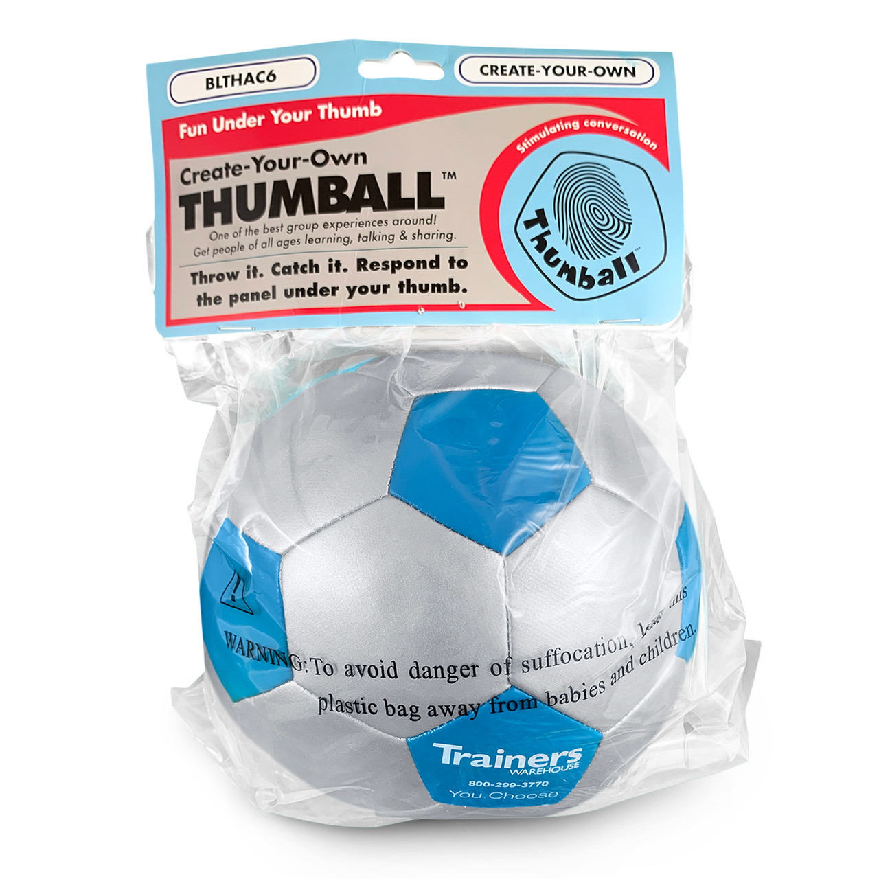 Create-Your-Own Thumball - in packaging