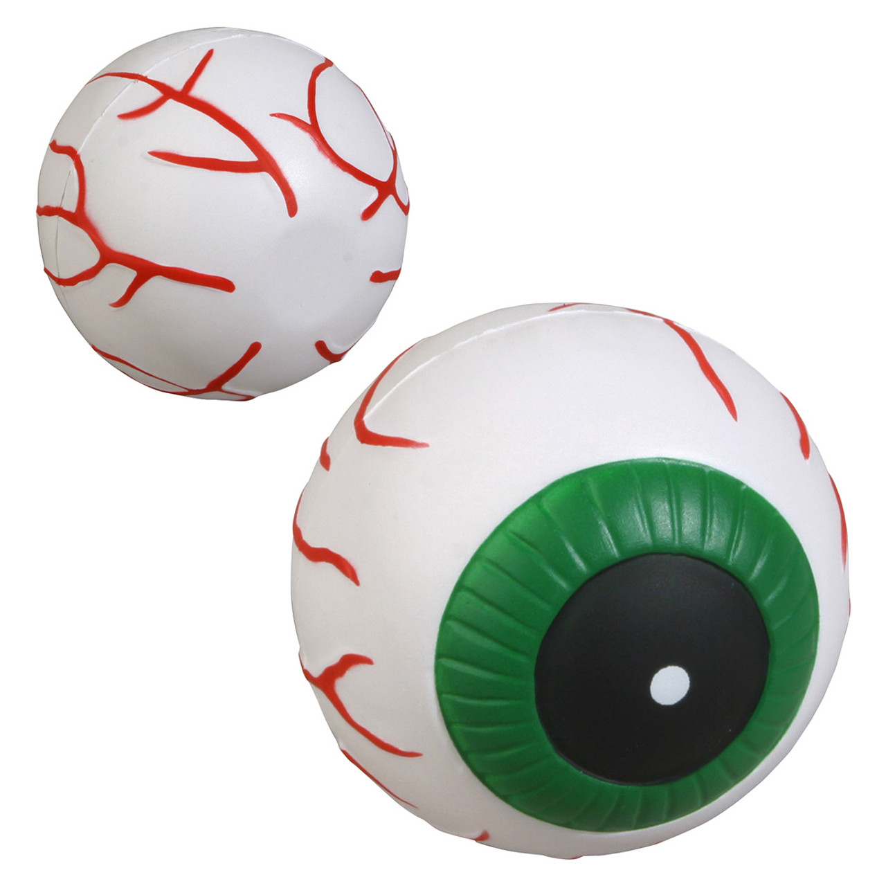 Eyeball Stress Toy, front and back