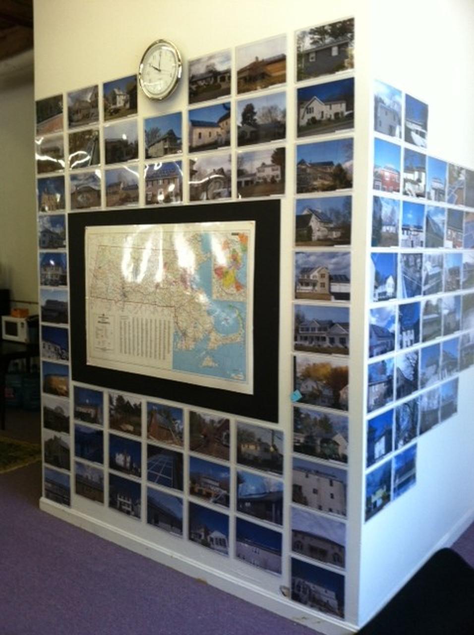 Wall of DocU-Sleeves