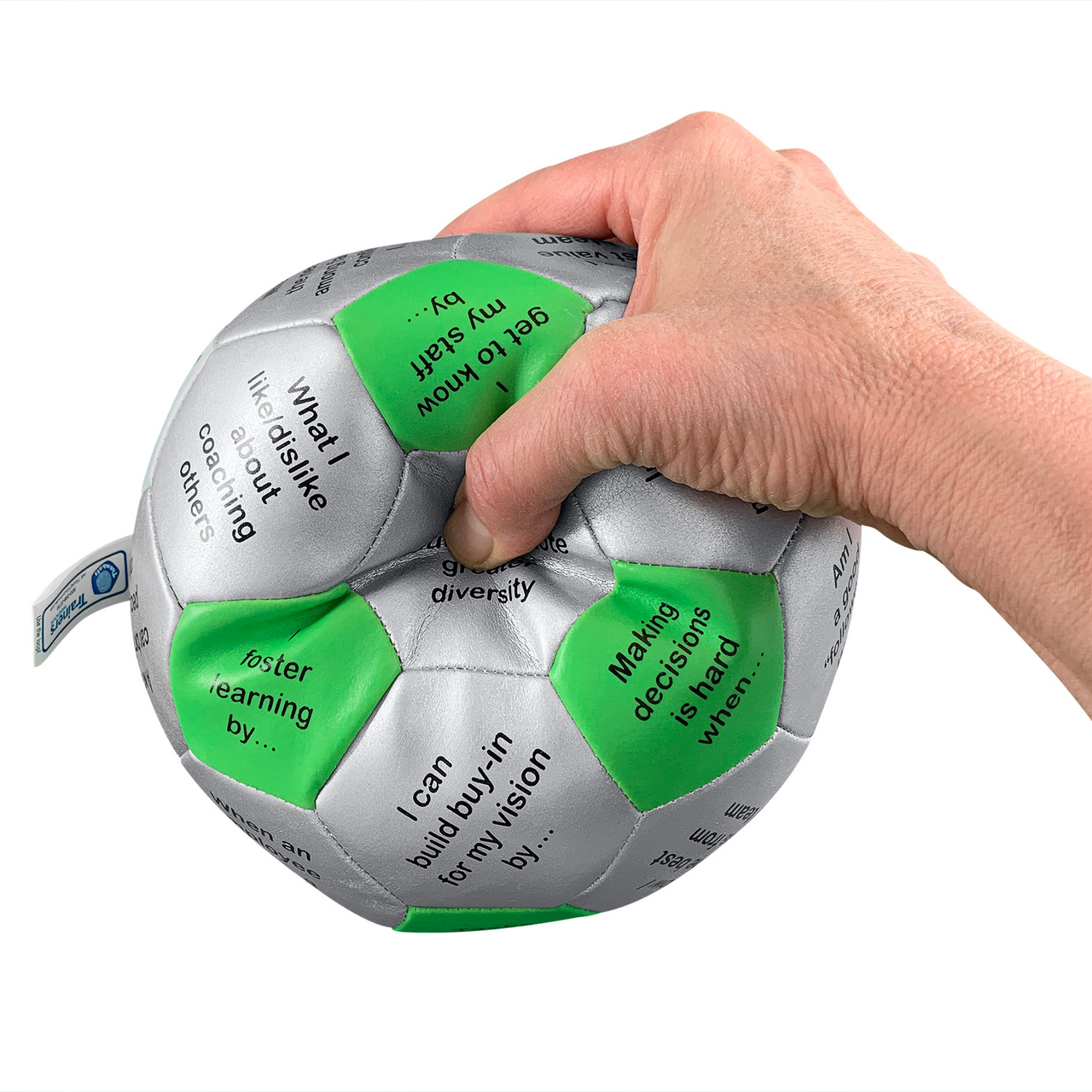 Be a Leader Thumball - hand squeezing ball