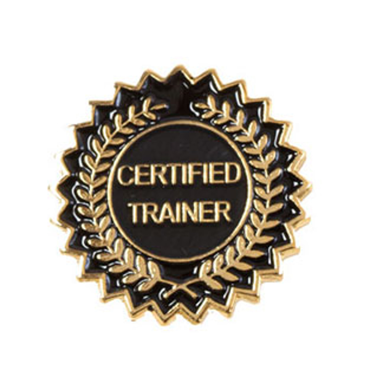 Certified Trainer Lapel Pins Laurel