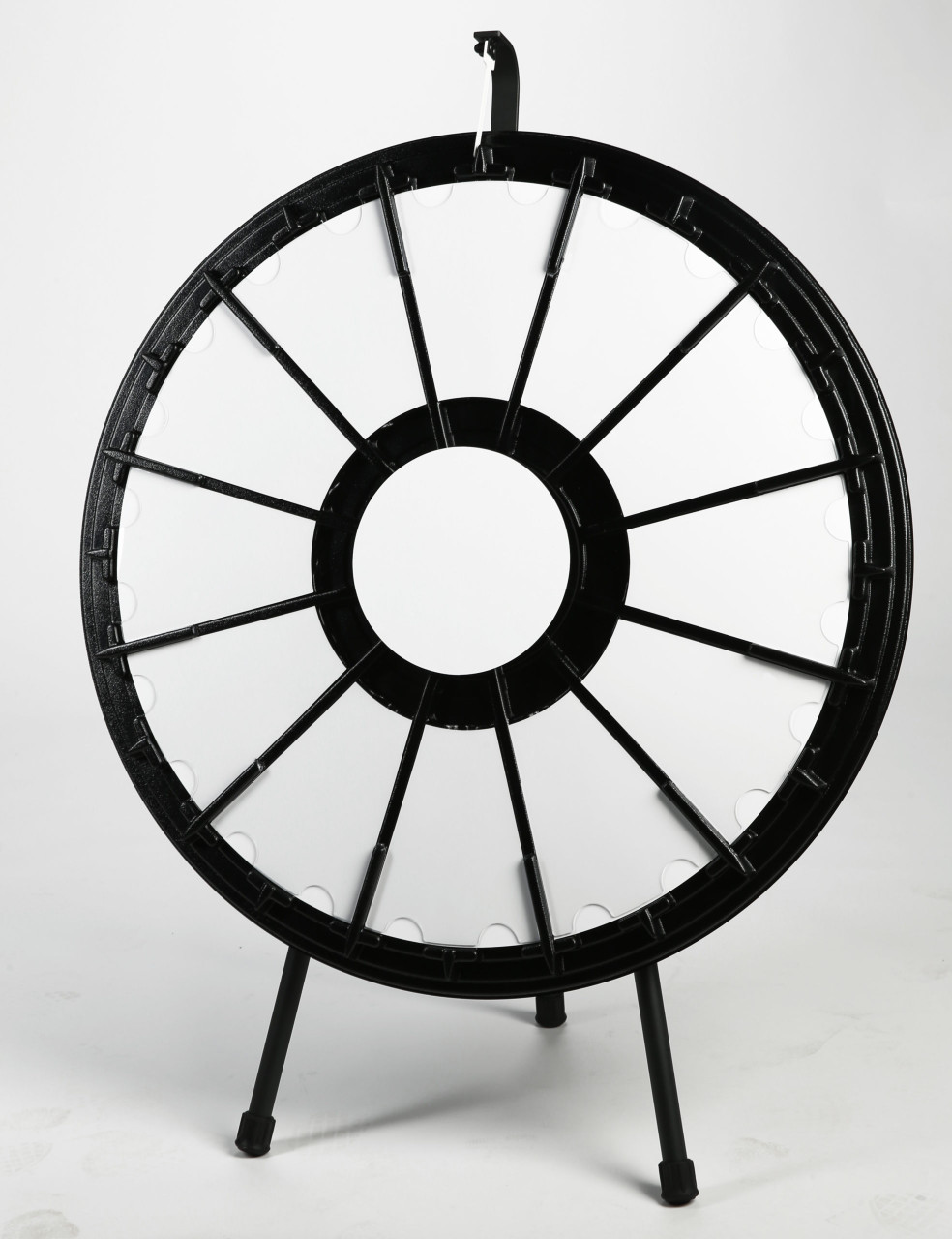 Prize Wheel (12-pocket, 31 in.; on Tabletop. Blank sections