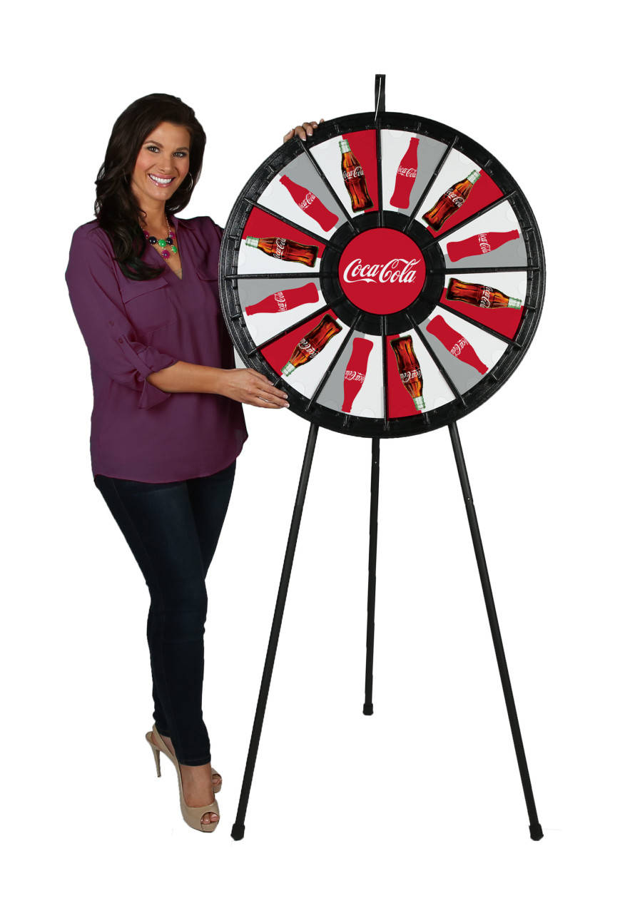 Prize Wheel (12-pocket, 31 in.; Convertible for Floor & Tabletop use,  with model