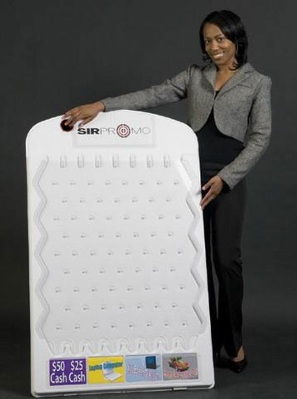 Plinko Prize Board; white