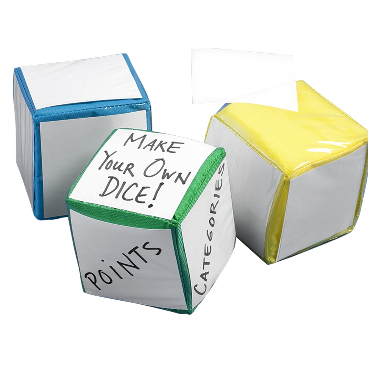 Write 'n Toss Tro (3/pk); removable white card