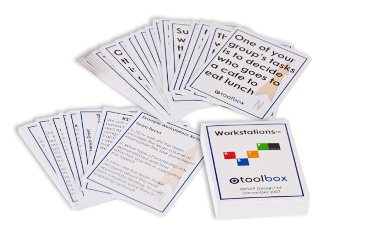 Workstations Toolbox Card Deck