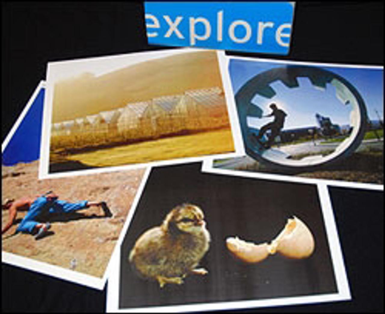 Visual Explorer Kit; card image