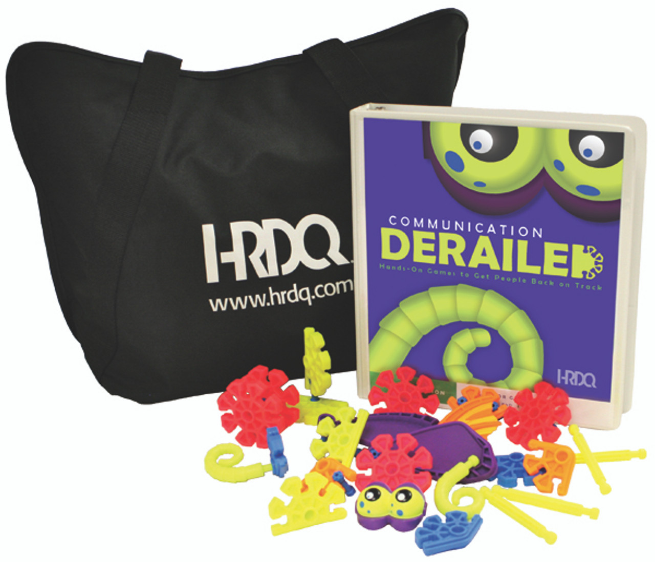Communication Derailed Game Kit with bag