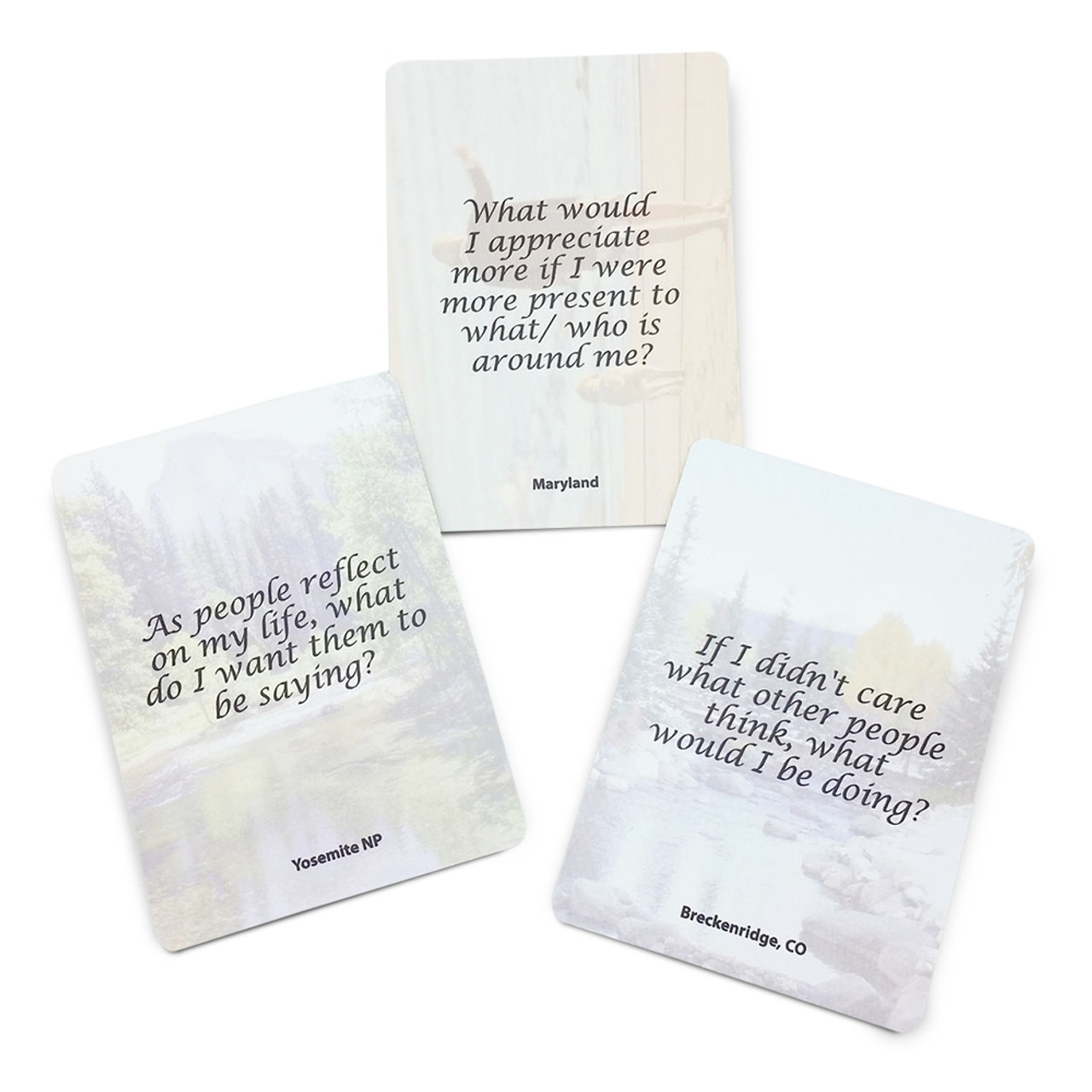 View-Changer Cards; quote side of cards