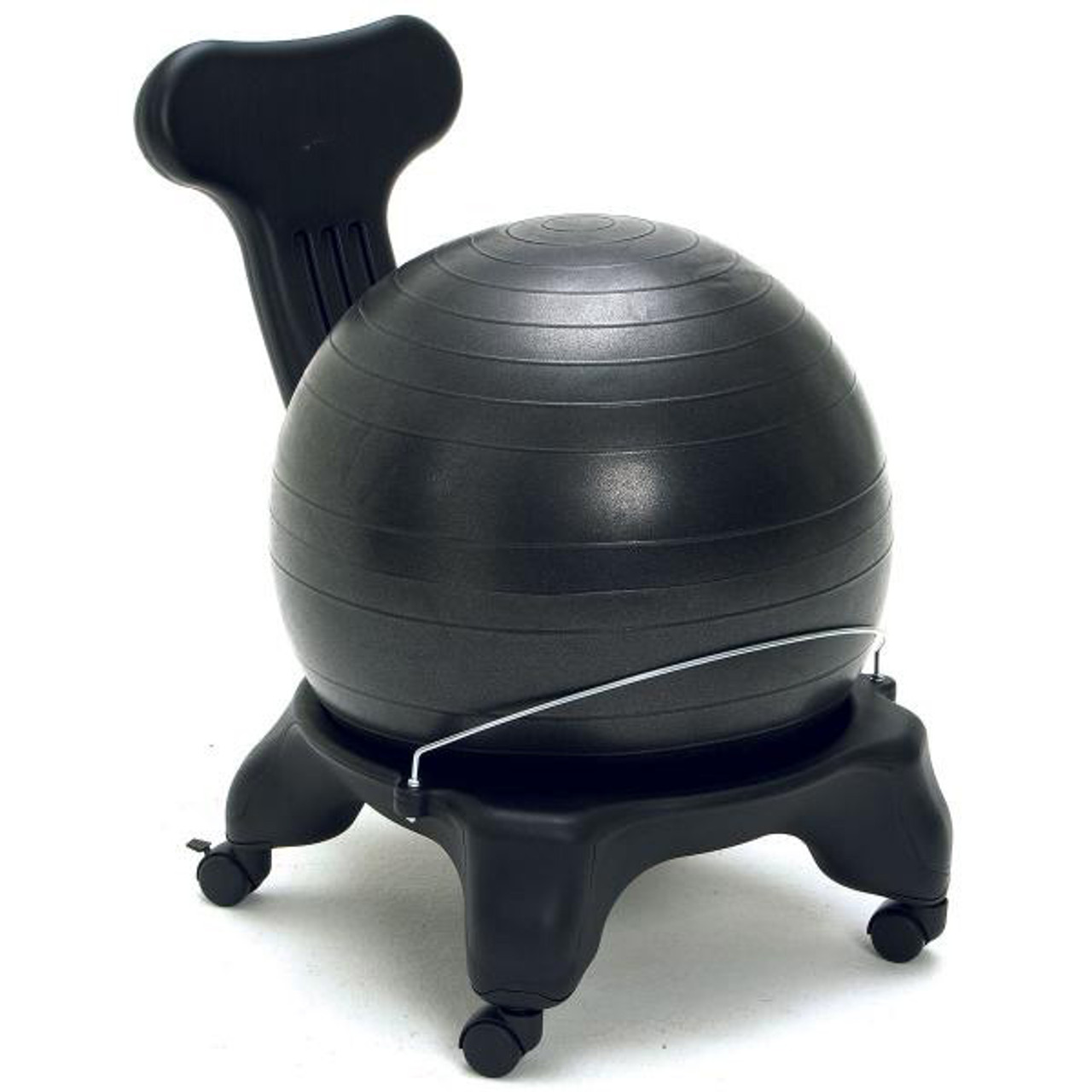 Balance Ball Chair with Back Support