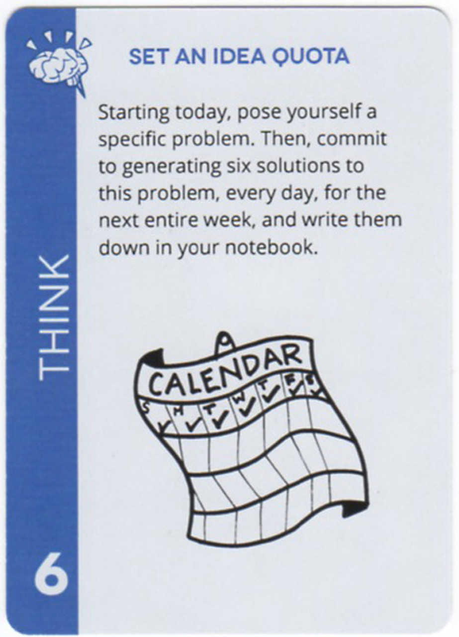Zig Zag Creativity THINK Card