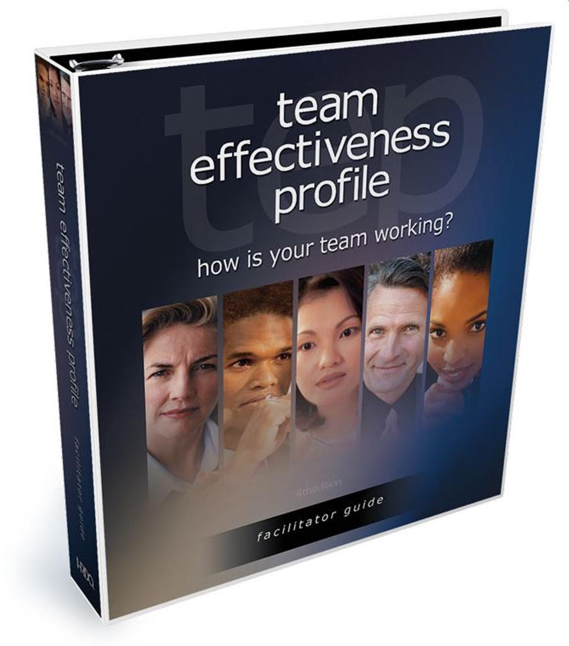 Team Effectiveness Profile --facilitator guide