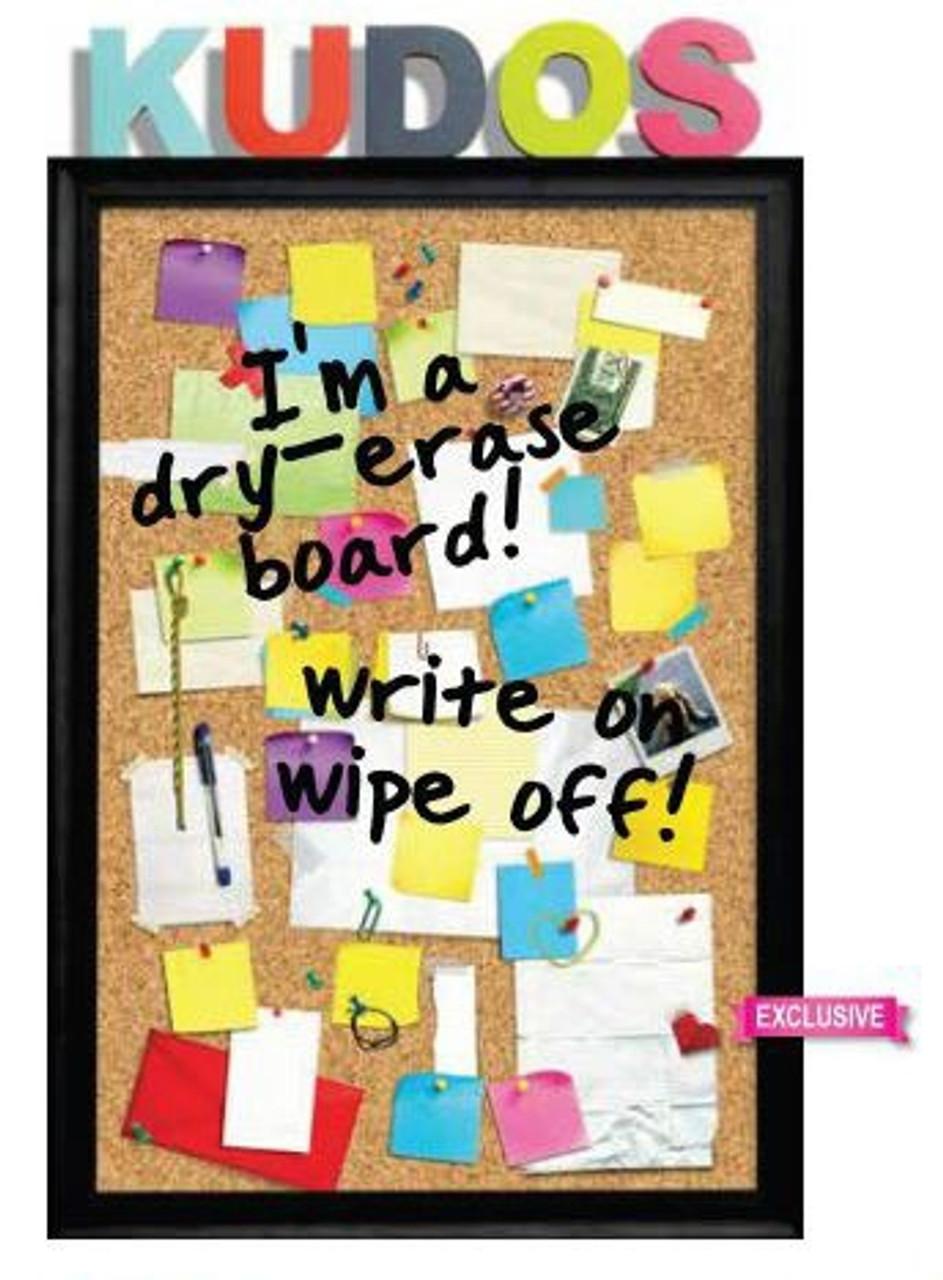Kudos Poster, Peel & Stick