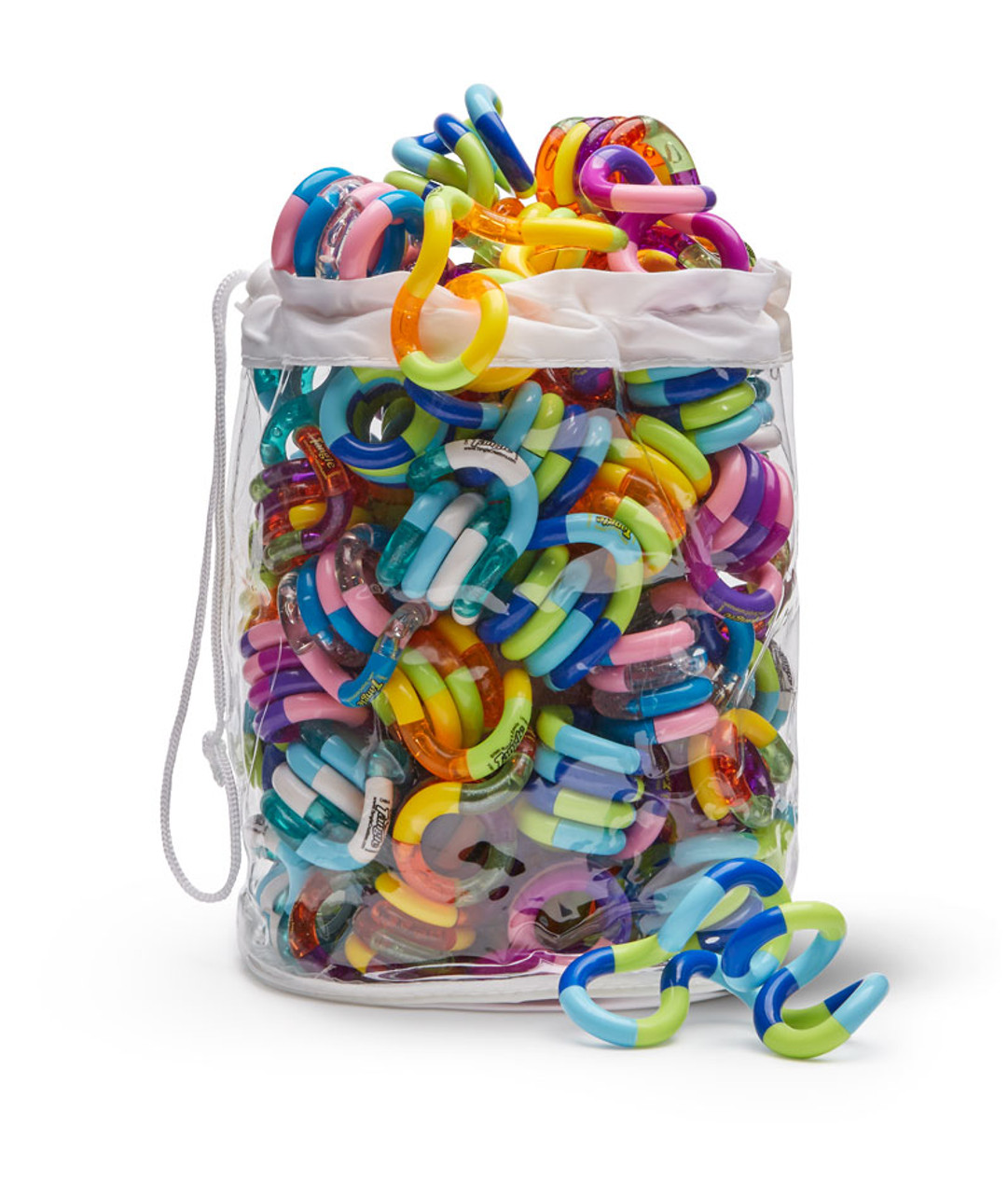Tangle Toy; set of 50 in vinyl bag
