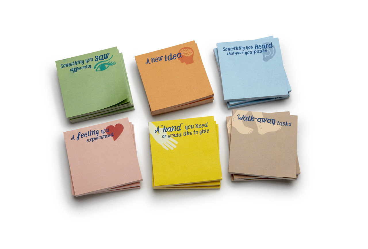 Body Smarts Sticky Notes for Debriefs