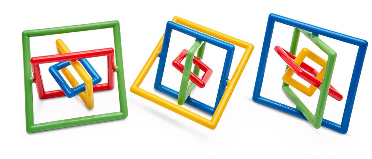 Gryobi Squared; 3 assorted color combinatins