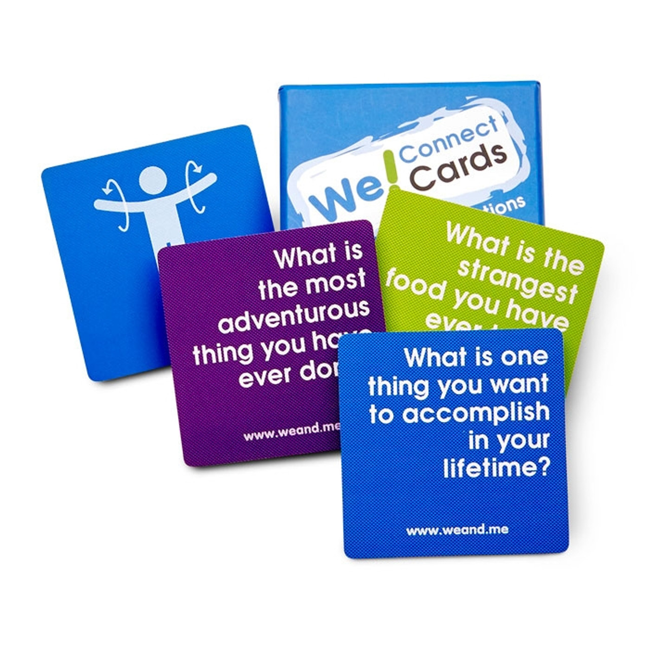 We Connect Cards; sample cards