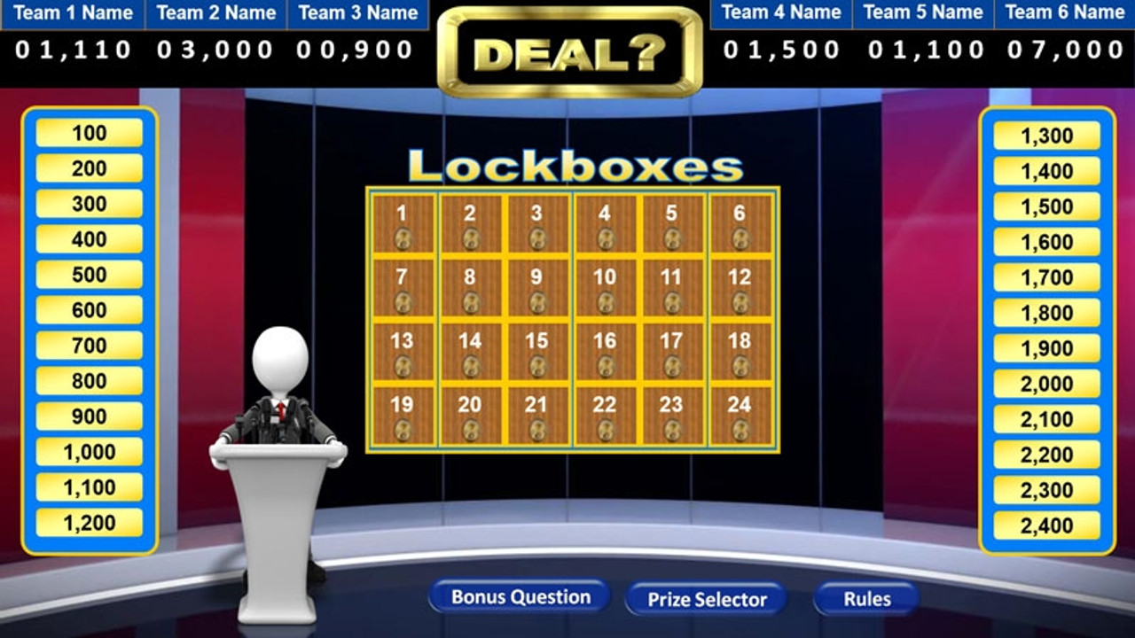 Top 10 TV Game Show Super Pack, multi-user license; Deal?