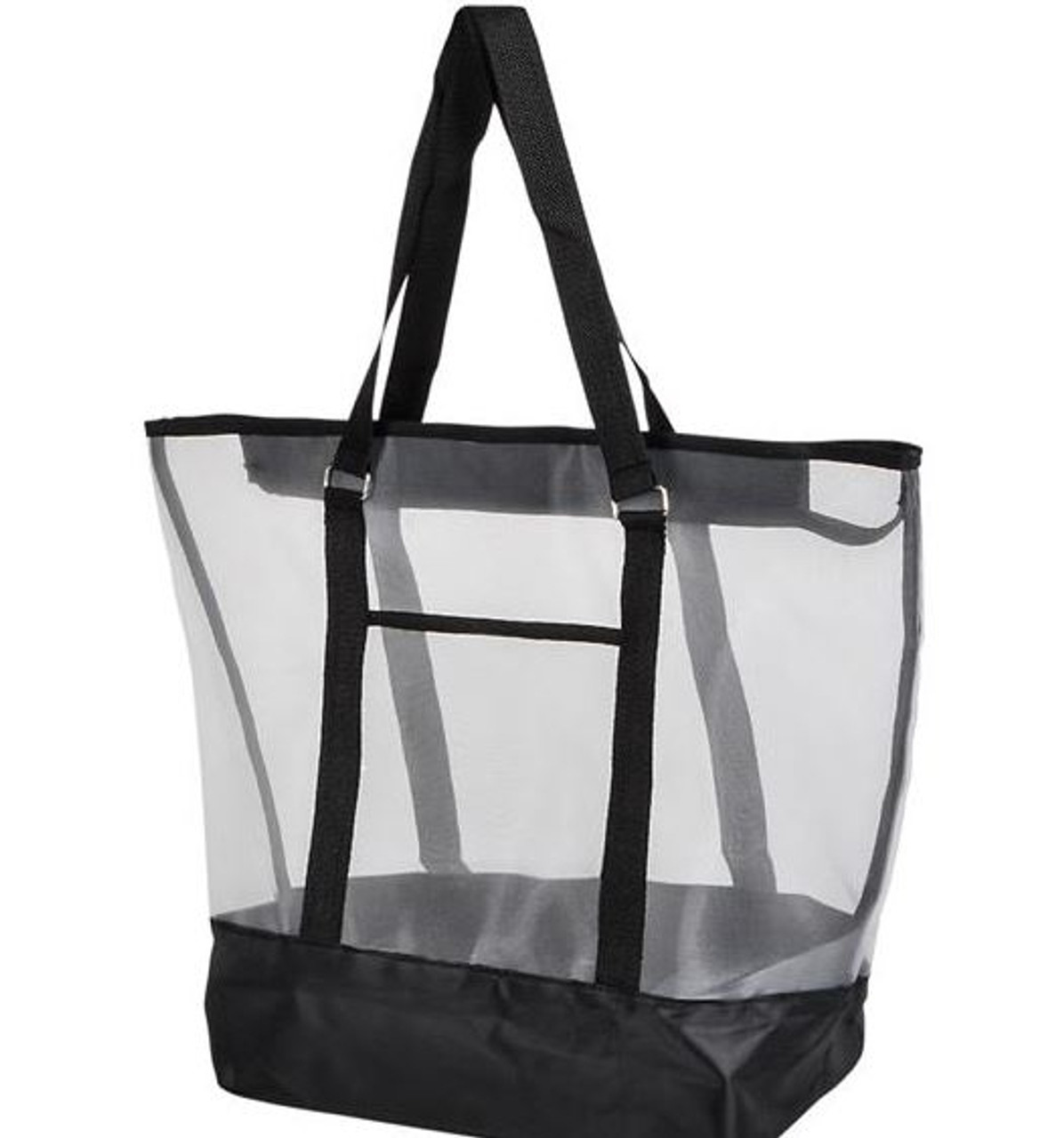 Large Mesh Bag; black