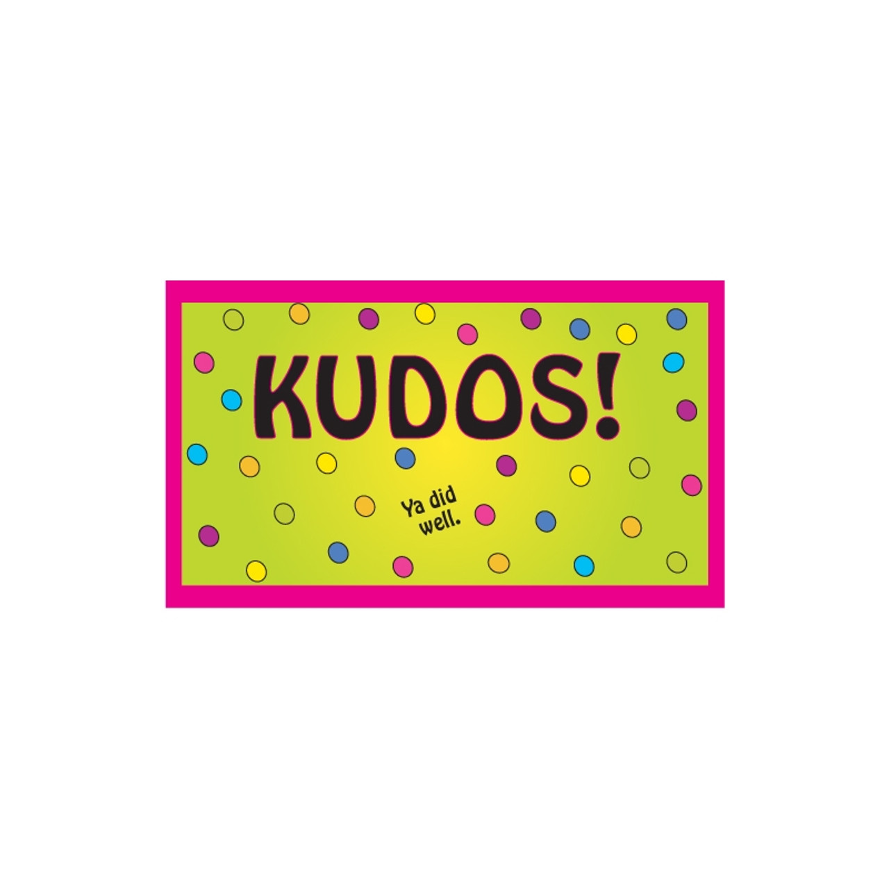 Kudos Card Set (70/set)