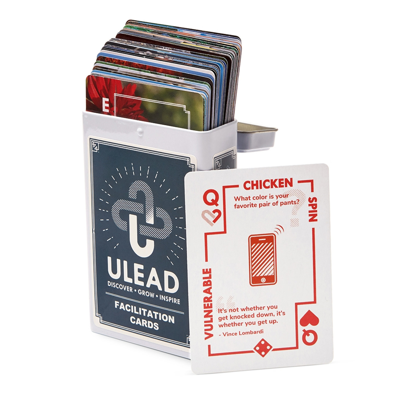 ULEAD Cards; box with cards
