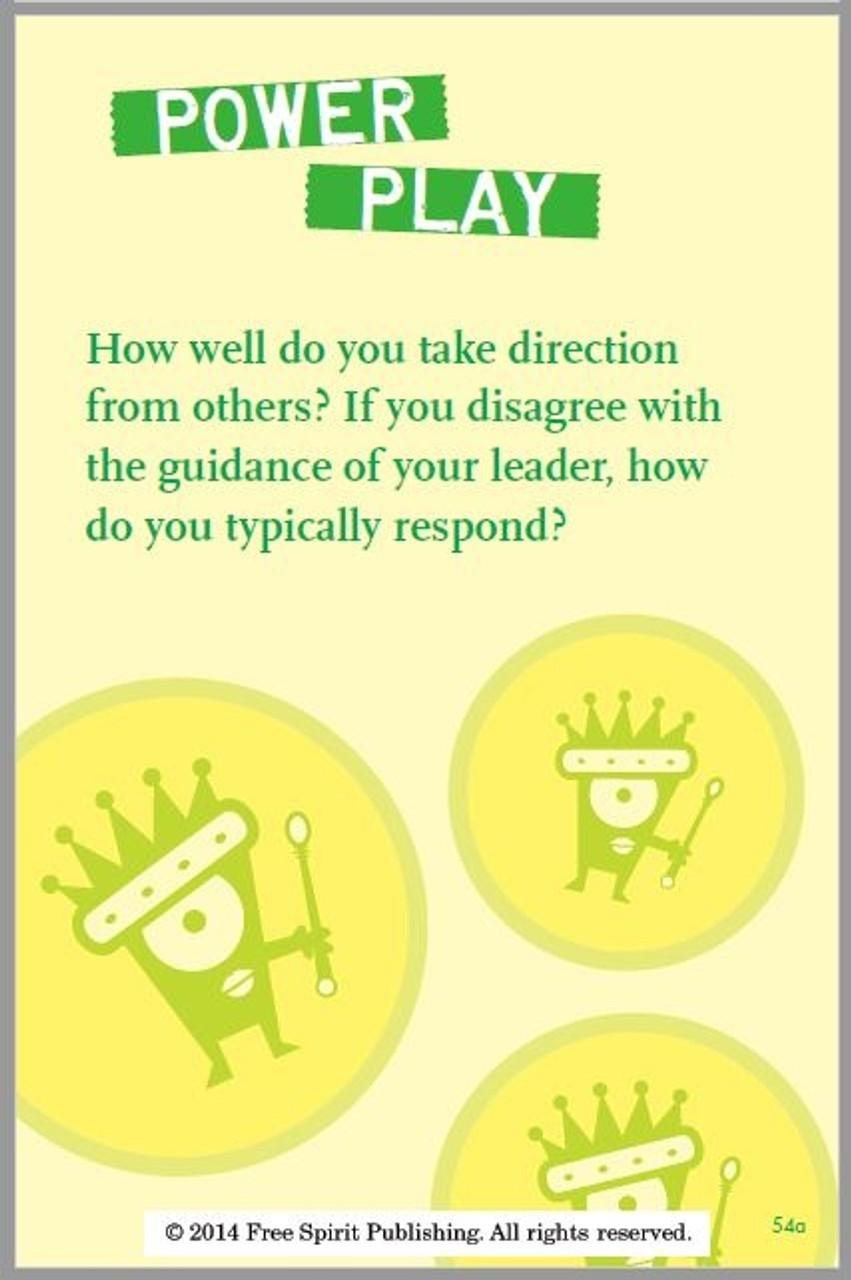 Everyday Leadership Card; Power Play
