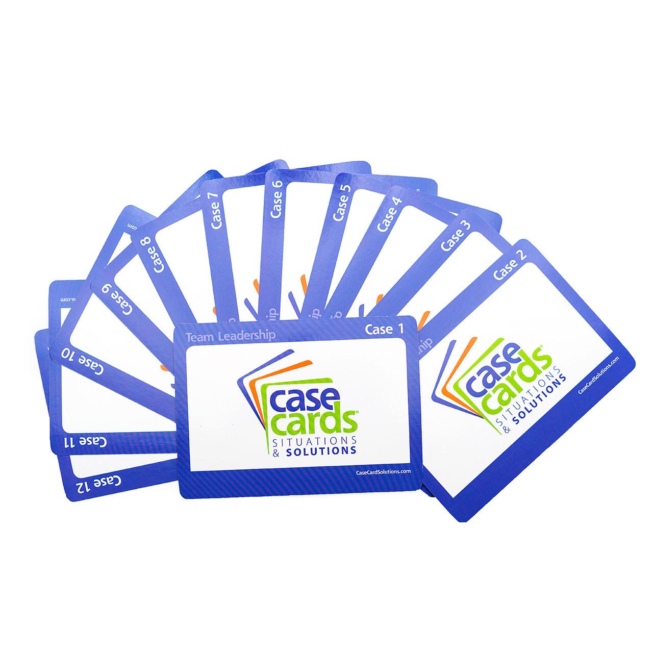 CaseCards - Team Leadership Fan