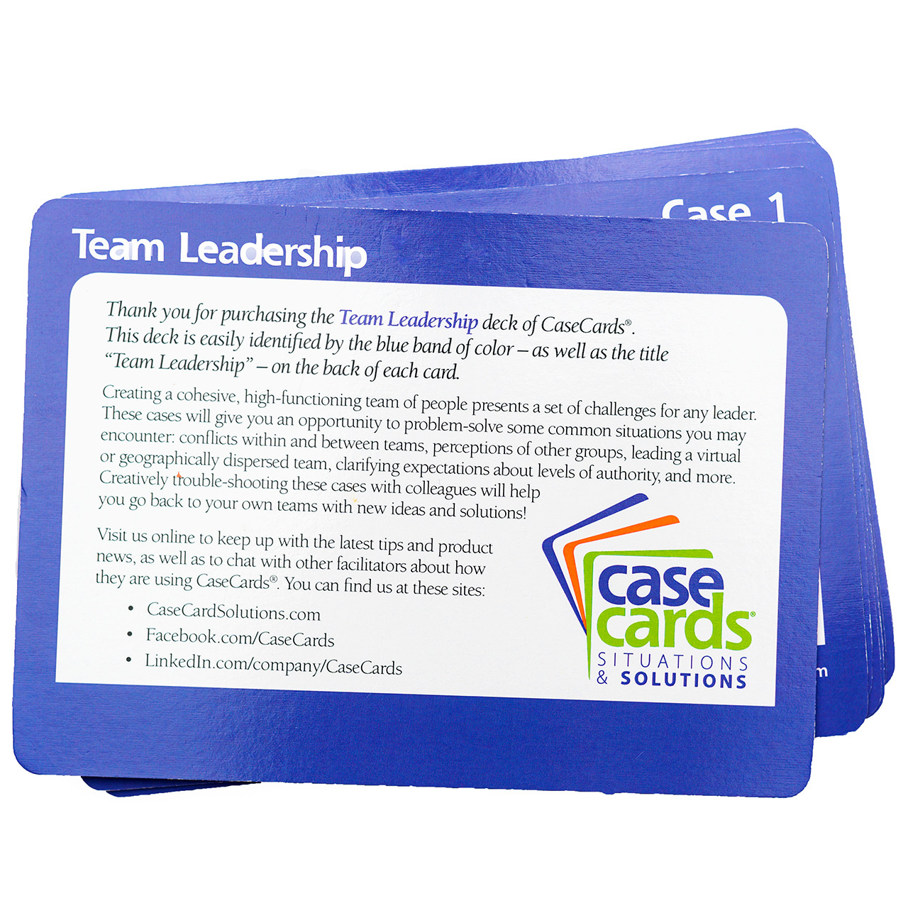CaseCards - Team Leadership Back