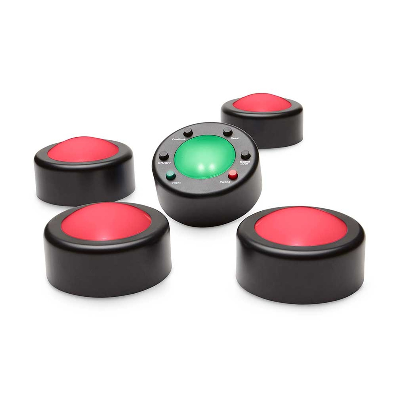 Me First v.3 wireless Game Buzzers - Small Group 4-user Set