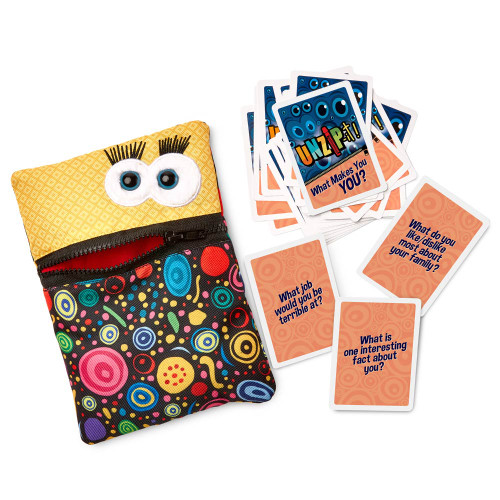 UNZIP-it! with What Makes You YOU Conversation Card Deck