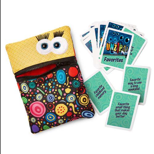 UNZIP-it! with Favorites Conversation Card Deck