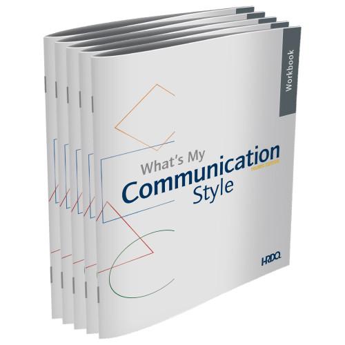 What's My Communication Style - Workbooks