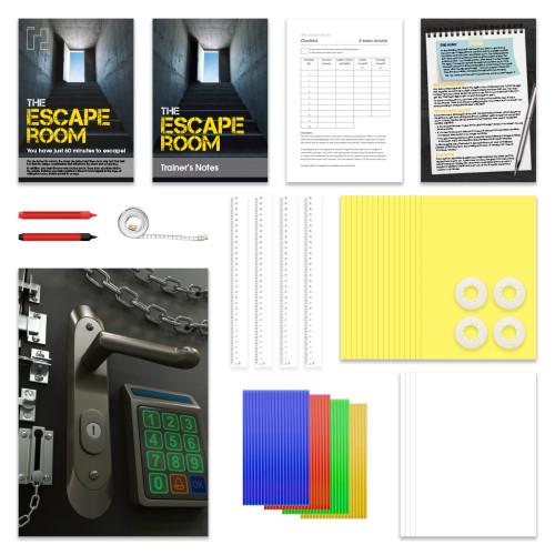 The Escape Room; game parts