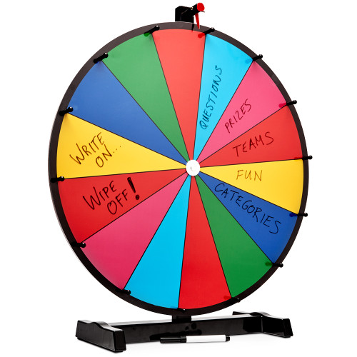 """Spin to Win 24"""" Prize Wheel"""