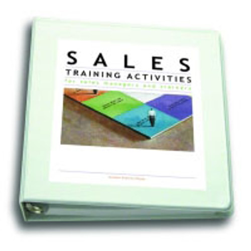 Sales Training Activities for Sales Managers and Trainers