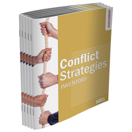 Conflict Strategies Inventory - Self Assessment; set of 5