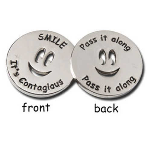 Smile Tokens; front and back