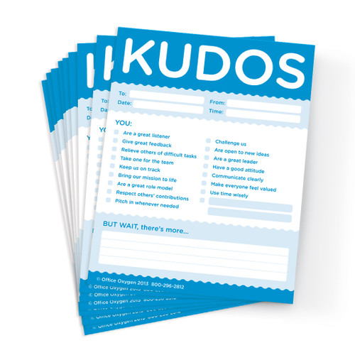 Kudos for Colleagues Note Pad Set; 10 pads