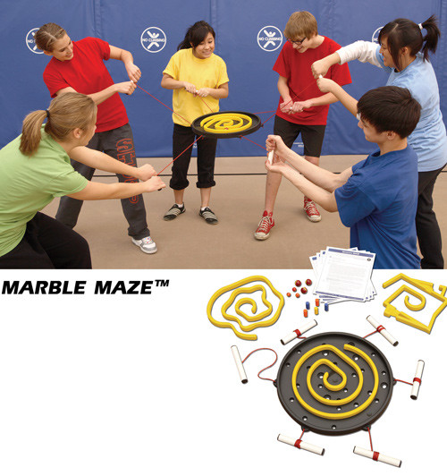 Marble Maze Game; in use