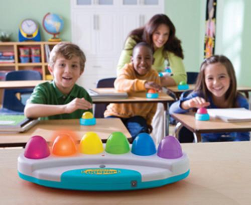 Eggspert Buzzer in use in classroom