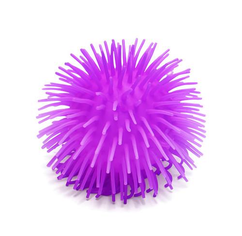 Puffer Ball; purple