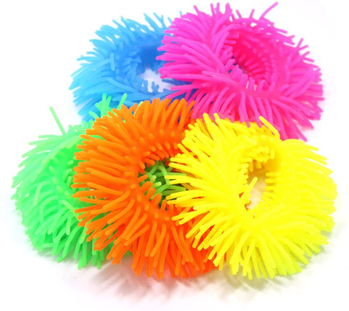 Pufferband; 5 assorted colors
