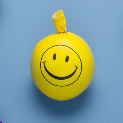 Smiley Isoflex Ball on blue background