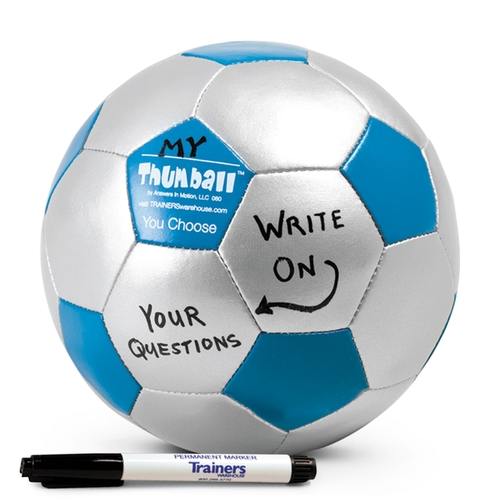 Create-Your-Own Thumball with Permanent Marker