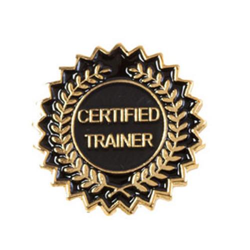 Certified Trainer Lapel Pins Laurel