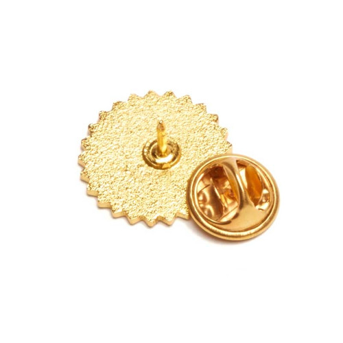 Certified Trainer Lapel Pins with Laurel; back