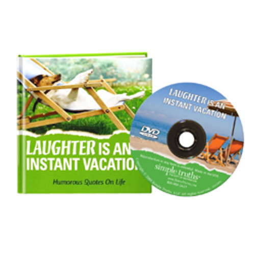 Laughter Is An Instant Vacation -- book & DVD