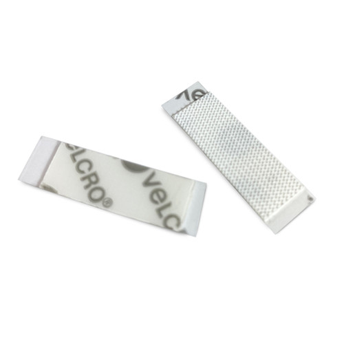 VELCRO Hooks; two strips with peel-off back